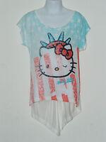 Girls Hello Kitty Print T-shirt Top 7-8, 8-9, 9-10 Years
