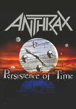 "ANTHRAX FLAGGE / FAHNE ""PERSISTENCE OF TIME"" POSTER FLA"