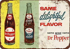1963 Diet Dr. Pepper Reproduction Metal Sign 8 x 12