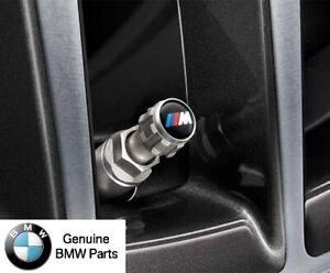 BMW Genuine M Performance Valve Stem Caps Set of 4 - 36122447402