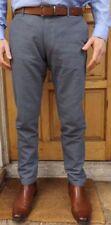 """MEN`S NEW ZARA COTTON SUMMER TROUSERS 31"""" WAIST BLUE PANTS - RRP £28"""