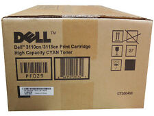 Original Dell Toner 593-10171 PF029 CT350453 for 3110cn 3115cn Cyan A-Ware