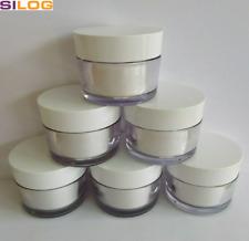 10 x 50 ml Tiegel, Cremetiegel, Dose, leer, konisch, dickwandig, Made in Germany