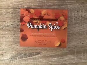Voesh Pumpkin Spice Pedi In A Box 2 Complete 4 Step Kits