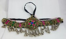 Afghan Kuchi Headpiece Tribal Head dress Piece Band Belly Dance Ethnic Bohemian