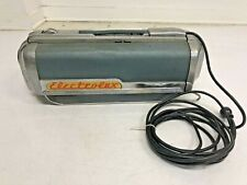 Vintage ELECTROLUX CANISTER LX Vacuum Cleaner 60 sled atomic canister blue 50s