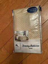Tommy Bahama New Loredo Gardens Sand Euro European Pillow Sham Cotton Home Decor