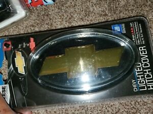 Reese Chevy Hitch Cover LED Light Trailer Towing Hitch Receiver 6530