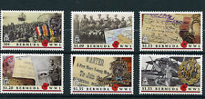 Bermuda 2016 MNH WWI The Great War 6v Set First World War I Stamps
