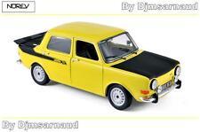 Simca 1000 Rallye 2 1976 Maya Yellow NOREV - NO 185708 - Echelle 1/18