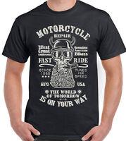 Motorcycle Repair Fast Ride Mens T-Shirt Superbikes Motorbike Moto GP Bike Biker