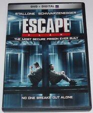 Escape Plan DVD Movie Widescreen Arnold Schwarzenegger Sylvester Stallone 2014