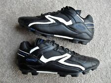 Men's Spalding Black/White Baseball Soccer Football  Shoes Cleats Size 11 US
