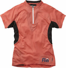 Women's Short Sleeve Cycling Jerseys with Half Zipper
