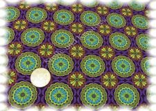 Medaillon Stretch-Jersey lila Hilco Shirtstoff Baumwoll-Jersey 50 cm Kinderstoff