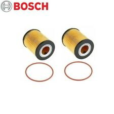For BMW 3 5 Series X3 X5 Z3 Z4 Set of 2 Engine Oil Filter BOSCH Workshop 72202WS