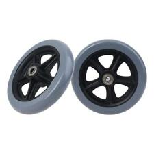 2pcs 6 Wheelchair Casters Small Cart Rollers Chair Wheels Accessories