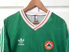 VTG Adidas Jersey IRELAND 1988-90 Home Soccer Futbol Irish Team 80's 90's Sz XL