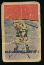 1952-53 Parkhurst Hockey #79 GEORGE SULLIVAN (Boston Bruins) Almost Died in Game