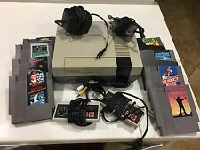 NES Nintendo Entertainment System Bundle Games Super Mario New 72 Pin Connector