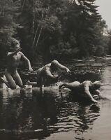 1989 Vintage BRUCE WEBER 3 Male Nude DAMON JASON CHRISTIAN Lake Photo Art 11X14