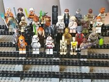 Lego Star Wars Figur 30Stk. Han Solo Mace Windu Anakin Clone Trooper Obi Wan