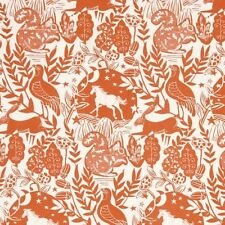 Studio G Westonbirt Wildlife Design in Spice Curtain Upholstery Craft Fabric