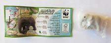 KINDER NATOONS WWF ELEFANTE DC018 PERSONAGGIO CON CARTINA