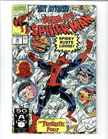 WEB OF SPIDER-MAN #76 1991 MARVEL COMIC.#113998D*12