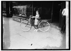 Times girl on bicycle,Bike Riding,Children,National Photo Company,1921-192 7364