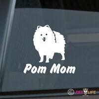 Pom Mom Sticker Die Cut Vinyl - Pomeranian Pompom