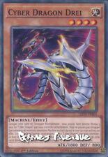 Yu-Gi-Oh ! Cyber Dragon Drei LEDD-FRB03 (LEDD-ENB03) VF/COMMUNE