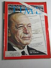 Time Magazine- Vintage- July 5, 1968- Justice Abe Fortas