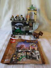 LEGO HARRY POTTER FORBIDDEN CORRIDOR 4706 2001 THREE HEADED FLUFFY ++++