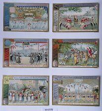 111775 Liebigbilder Serie Nr. 413 Sport, Grosses Ballett von Manzotti 1898