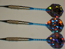 """Soft Tip Darts 17 Gram Nickel Plated,""""DEADSTROKE"""" with Aluminum Shafts New #1085"""