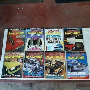 Vintage Street Machine magazines. Lot of 8. 1987