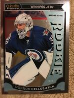 2015-16 O Pee Chee Platinum Marquee Rookie Connor Hellebuyck