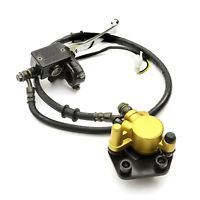 Front Brake Calliper & Hydraulic Master Cylinder Kit For Chinese 50cc Motorcycle