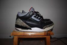 Air Jordan 3 III Black Cement Size 12 2011 Retro