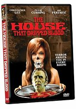 THE HOUSE THAT DRIPPED BLOOD (1971 Christopher Lee)  -  DVD - REGION 1 - SEALED