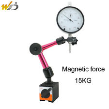 Magnetic Base Holder Stand +Dial Indicator 0-10 mm Full Adjustable Dial Gauge