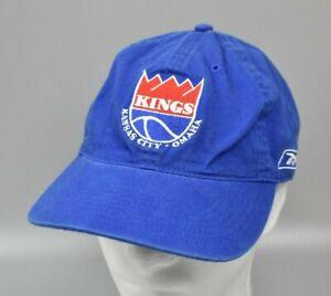 Kansas City - Omaha Kings Reebok NBA Hardwood Classics Strapback Cap Hat