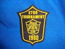 Vintage 1980 Mac Club Tournament Patch