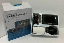 Type S 4.3'' Color Monitor Backup Camera Kit