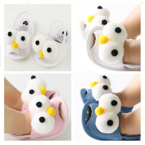 Big Eyes Newborn Gift Toddler Soft Sole Summer Sandals Baby Boy Girl Crib Shoes