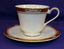 BEAUTIFUL ROYAL DOULTON BONE CHINA COFFEE CUP & SAUCER SET SANDON PATTERN H5172