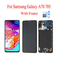 Complete LCD Display Touch Screen Digitizer + Frame for Samsung Galaxy A70 A705
