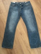 Mens Crosshatch Jeans - 36R