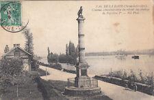 VAL DE LA HAYE colonne commémorative du retour des cendres de Napoléon Ier timb.